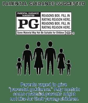 kategori film PG
