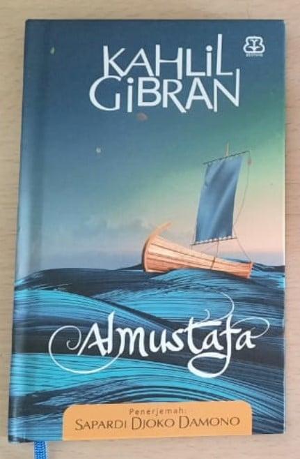 buku almustafa berisi puisi kahlil gibran tentang anak