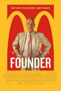 poster film tentang marketing, the founder