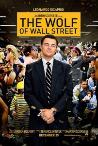 poster film tentang marketing the wolf of wall street