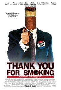 poster film marketing, thank you for smoking