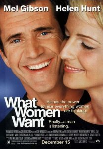 poster film marketing, what women want