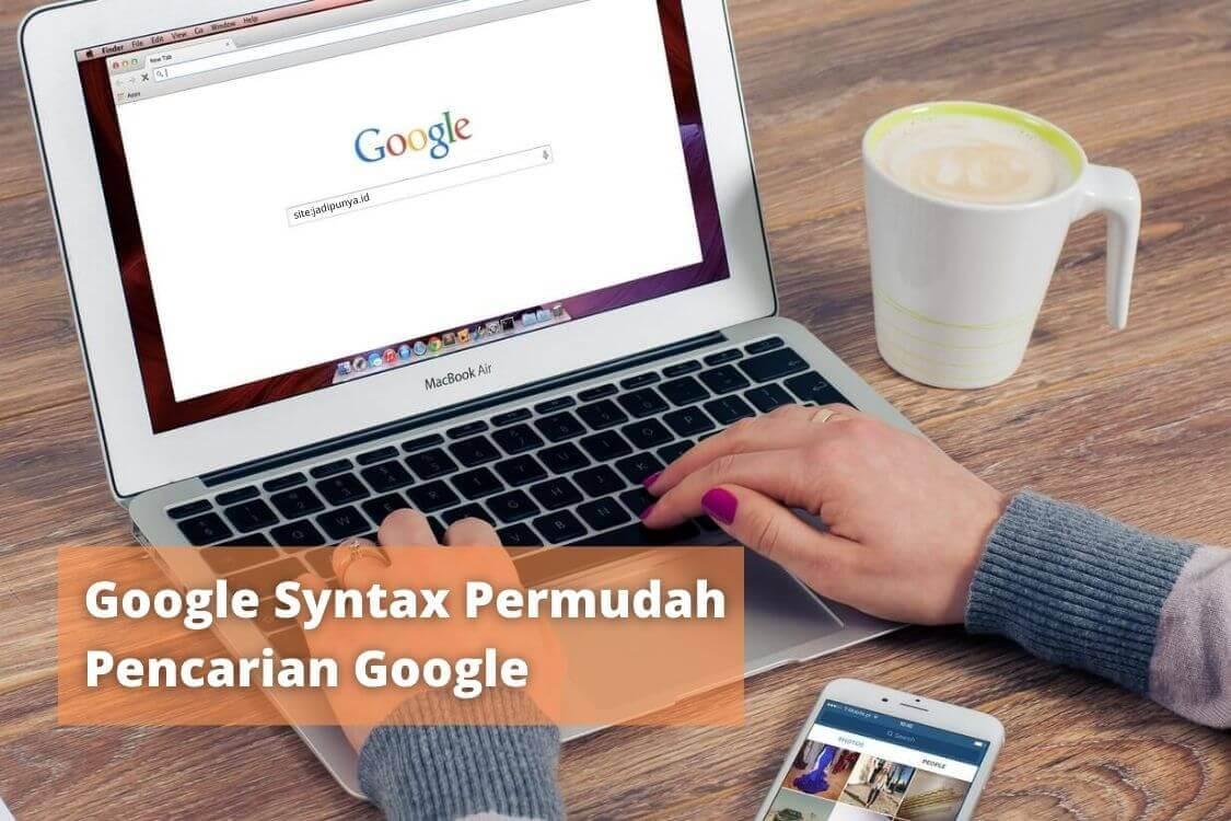 google syntax untuk pencarian google