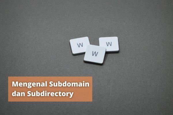 apa itu subdomain